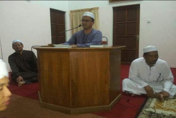 Ucapan Wakil JIBG Sheikh Azahari